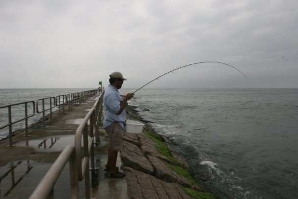 Packery port aransas jetty don alcala fly fishing for Fishing report corpus christi texas